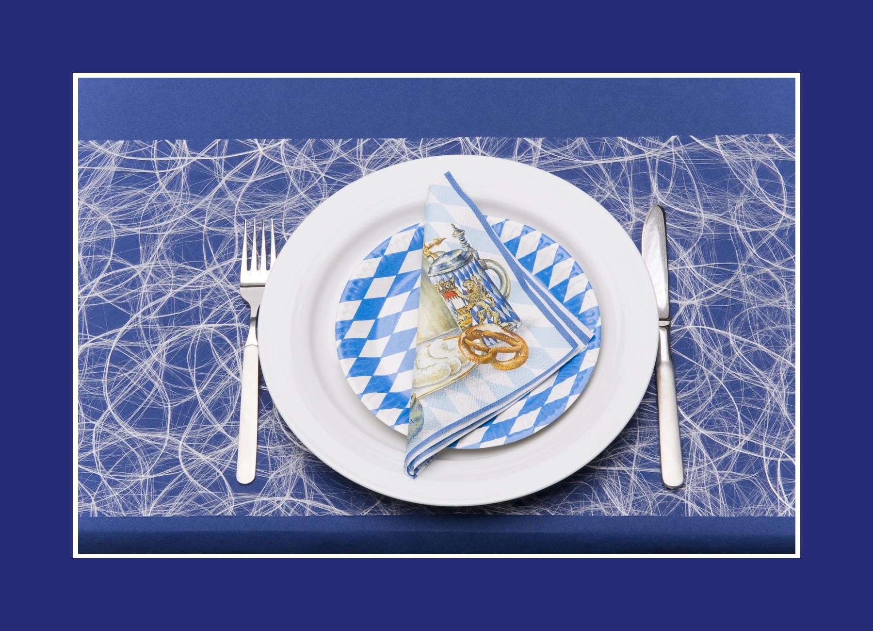 Tischdeko Bayern