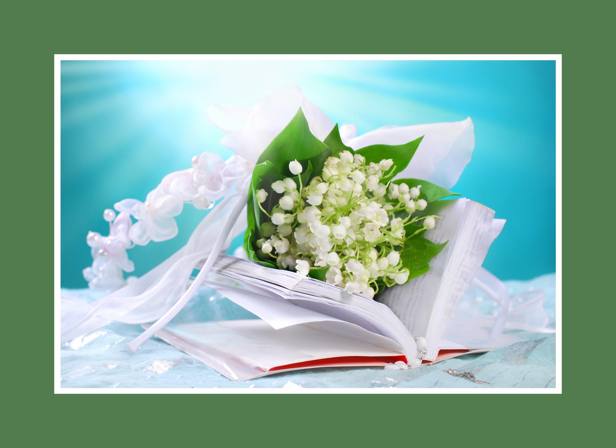 Zarte und duftene Maiglöckchen als beste Blumendeko
