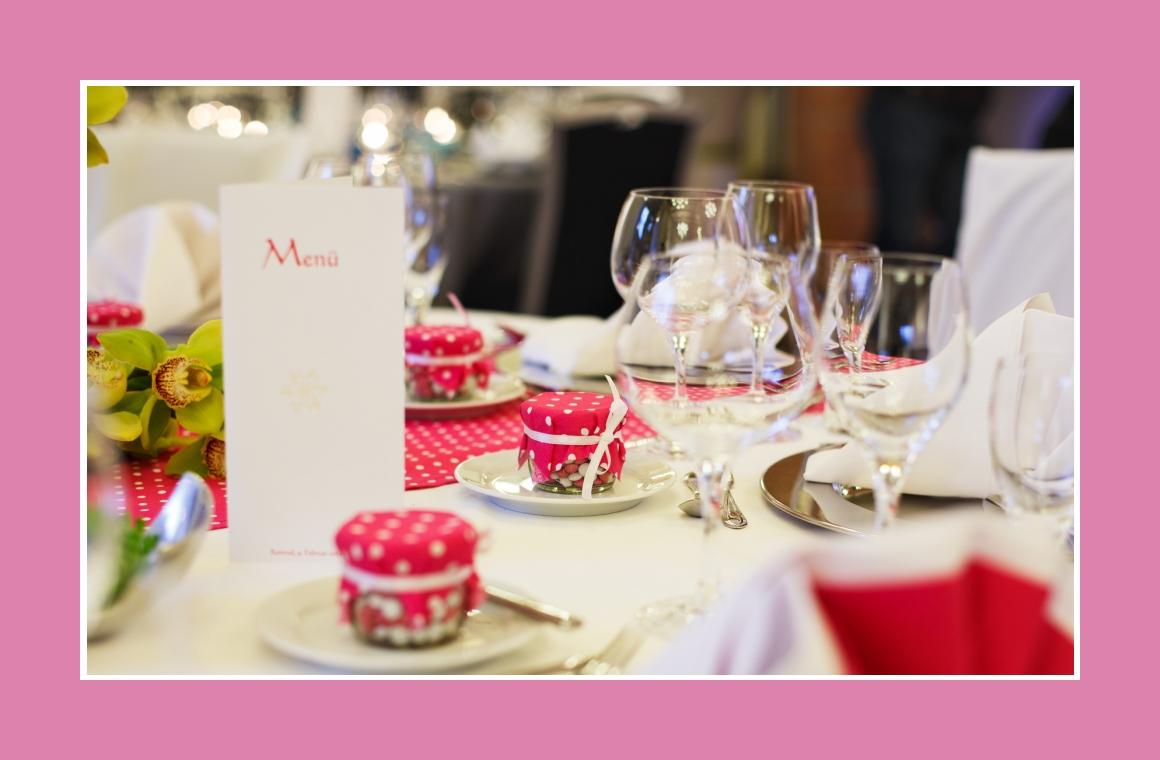 Nette Gastgeschenke als Tischdeko