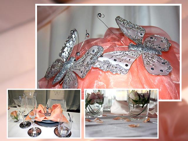 Schmetterlinge im Bauch – Tischdeko für die Hochzeit