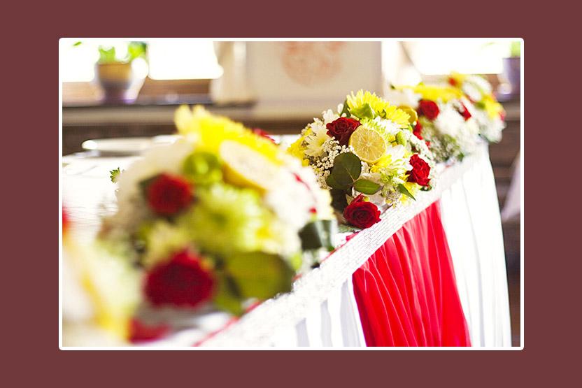 Blumenschmuck Hochzeit 4