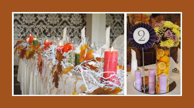 Hochzeitsdeko Herbst