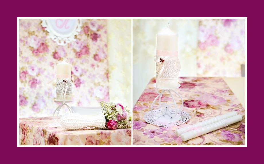 Kerzen Hochzeit Tischdekoration