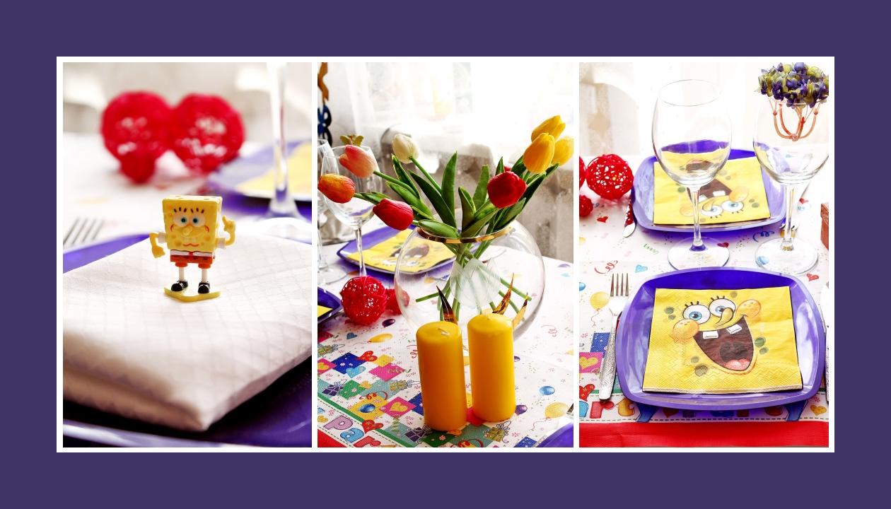 Bunte Deko Idee zum Kindergeburtstag Tulpen