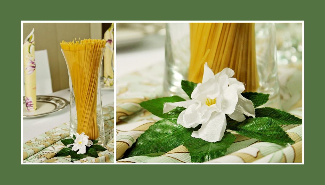Deko Idee Geburtstag Lila-Grün Blumen