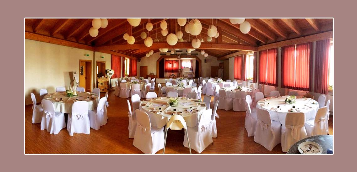 Hochzeitslocation Bürgersaal Brendlorenzen Bad Neustadt an der Saale